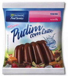 PUDIM CHOCOLATE C/ LEITE 520 G - 64