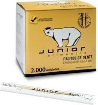 PALITO DENTAL  C/2000 UN JUNIOR